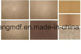 Red Dark Color Hardboard 1220*2440mm pictures & photos