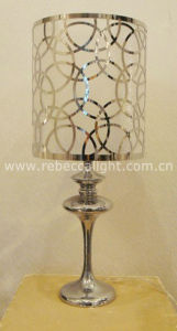 Modern Laser-Cutted Steel Table Lamp pictures & photos
