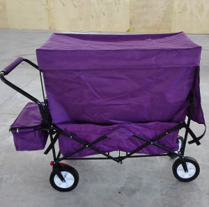 Folding Utility Wagon with Canopy for Kids pictures & photos