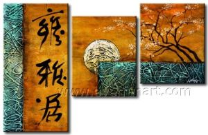 Home Decor Modern Canvas Art Reprodution Oil Painting (LA3-190) pictures & photos