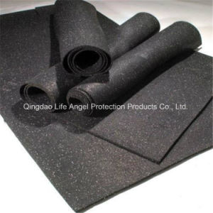 Anti-Shock 3-12mm Thickness Rubber Flooring in Roll pictures & photos