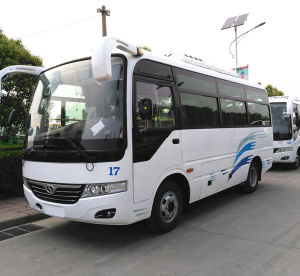 Low Price 20 Seats Diesel Bus in Sales Promotion pictures & photos