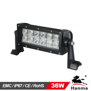 7.5inch Waterproof 36W LED off-Road Lights, for 4X4, SUV, ATV, 4WD, Truck, CE, IP67, RoHS
