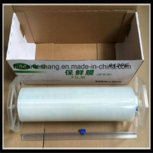 Transparent Best Fresh Food Adhesive Film PE Cling Film pictures & photos
