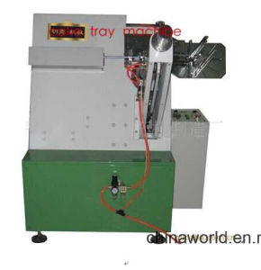 Oil Proof Paper Cake Tray Forming Machine pictures & photos