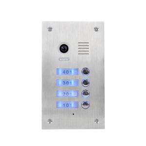 4 Wires Video Intercom Villa System (Out door station PL981C4(4)) pictures & photos