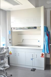 2015 New Chemical Lab Metal Steel Fume Hood pictures & photos