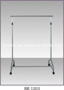 Removable Multi-Function Cloth Rack with Four Wheels (RR-1203-P1)