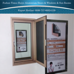 Aluminium Fly Screen Window with Insect-Proof Features pictures & photos