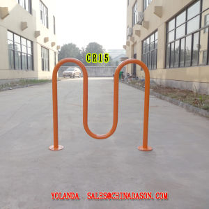 Metal Ground-Mounted Bike Rack Cr15 pictures & photos
