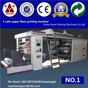 Four Color Flexographic Printing Machine Paper Flexographic Printing Machine pictures & photos
