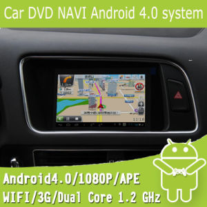 Car DVD Android Navi for Audi Q5 with Capacitance Touch Screen Android 4.0 System (EW813)