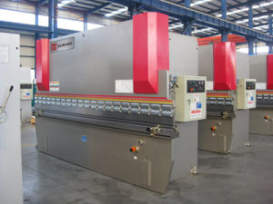 Metal Processed Manual Hydraulic Press Brake Machine pictures & photos
