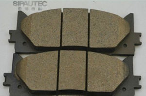 Semi-Metal Automobile Car Brake Pads D1222/D1293 for Lexuss Es/Toyota Aurion Camry pictures & photos