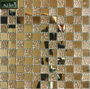Good Quality Glass Mosaic Tiles for Wall and Floor Decoration (VM23003)