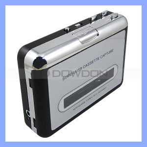 New USB Cassette Capture Tape to PC Portable USB Cassette to MP3 Converter Capture pictures & photos