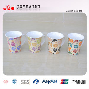 Hot Sale New Bone China Coffee Mug with Nice Decal pictures & photos