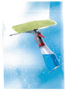 Spray Window Squeegee with Spray Bottom Soap Dispensor pictures & photos