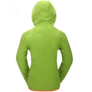 Zip up 100% Polyester Fleece Custom Hoody for Child pictures & photos