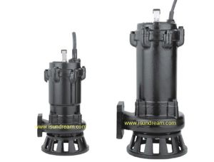 Wq Submersible Sewage Pump for Wastewater Treatment pictures & photos
