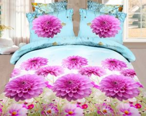 2015 New Design Sexy Red Rose Bedding Set Luxury 3D Bedding Set pictures & photos
