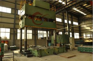 Four Column Hydraulic Press Machine, Anhui Huafeng Brand Punching Machine pictures & photos