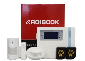 Wireless Alarm System with 62 Zones
