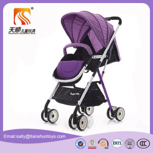 Ride on Baby Carriage Toys Purple Baby Buggy En71 Cartificate pictures & photos