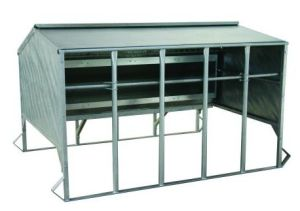 Sheet Metal Fabrication Calf Creep Feeder -Galvanised pictures & photos