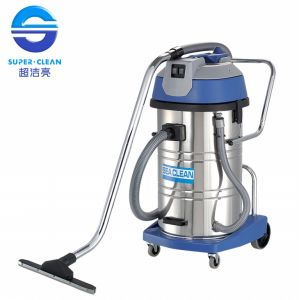 Industrial 80L 2000W/3000W Wet and Dry Vacuum Cleaner with Tilt pictures & photos