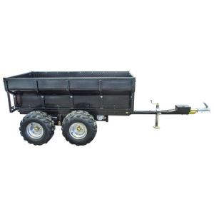 1.5t Hydraulic Tipping Farm Trailer, ATV Dump Trailer, Utility Trailer pictures & photos