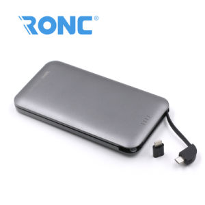 Slim Credit Card Power Bank 8000mAh with PVC Box Package pictures & photos