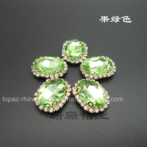 Fashion Jewelry Sew on Rhinestone Claw Setting for Necklace (SW-10*14) pictures & photos
