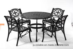 Elegant Dining Cast Aluminum Garden Set Furniture W/O Cushion pictures & photos
