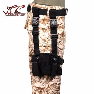 Hot Sell USP Compact Drop Leg Holster with Tactical Holster pictures & photos