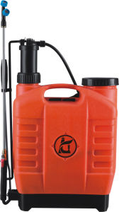 20L Manual Backpack PE Plastic Pressure Hand Sprayer (KD-20C-AC007) pictures & photos