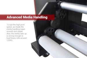 Maximum 270 Sqm/H with Advanced Konica Km512I LNB 30pl Head Solvent Printer pictures & photos
