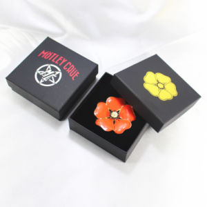 Custom Logo Cheap Printed Small Paper Cardboard Jewelry Ring Box Wholesale pictures & photos