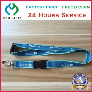 Screen Printed Festival Promotional Neck Lanyard (KSD-1163) pictures & photos