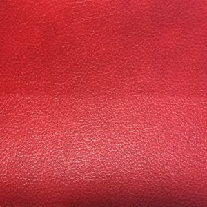 PVC Synthetic Leather for Sofa with Print, Two Tones pictures & photos
