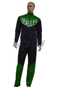 Factory OEM Color Printing Polyester Football Training Tracksuit Set pictures & photos