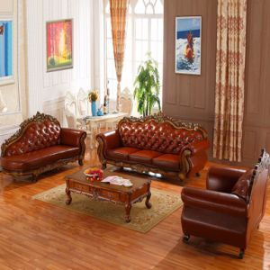 Living Room Sofa with Table for Home Furniture (619BA) pictures & photos