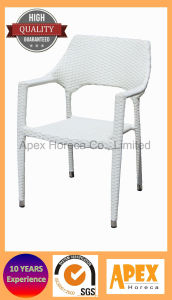 Dining Chair Woven Rattan Chair Outdoor Furniture Cafe Restaurant Arm Chair pictures & photos