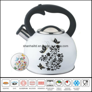 Hot Change Color Whistling Kettle pictures & photos