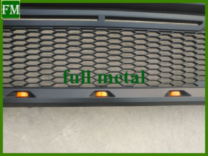 14-17 Toyota Tundra Grey ABS LED Raptor Mesh Grill pictures & photos