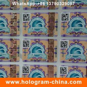 Security Laser Hologram Hot Stamping Sticker pictures & photos