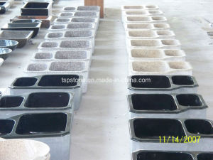 Natural Stone Double Kitchen Sinks/ Marble Stone Sink pictures & photos
