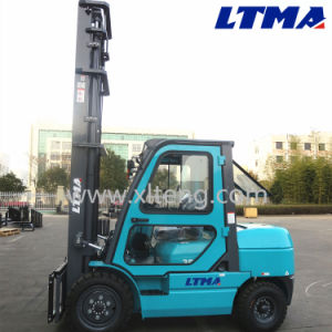 China New Model 3.5 Ton Diesel Forklift with Best Price pictures & photos