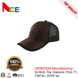 China Hats Factory OEM Fashion Straw Mesh Baseball Trucker Hat pictures & photos