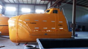 25 Persons Marine Lifeboat F. R. P. Enclosed Type Lifeboat pictures & photos